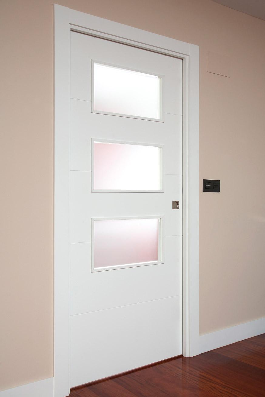 Puertas correderas wengue